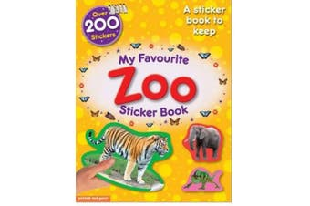 My Favourite Zoo Sticker Book: A Sticker Book to Keep! Essential Early Learning.
