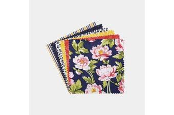 (Penelope Grace) - Connecting Threads Print Collection Precut Quilting Fabric Bundle 13cm Charm Squares (Penelope Grace)