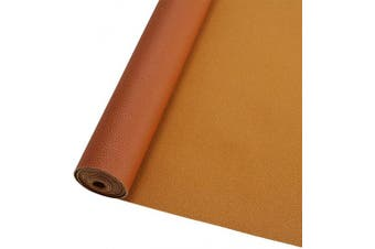 (Tan Roll) - AOUXSEEM Vivid Shiny Pearl Litchi Pattern Faux Leather Sheets for Earrings Bows Ornaments Making,Metallic Solid Colour PU Fabric Cotton Back 1mm Thickness【A4 Size/21cm x 30cm】 (Tan Roll)