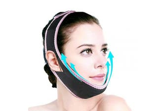 (Pink) - Aaiffey Facial Slimming Strap, Double Chin Reducer, Face-Lifting Belt-V Line Lifting Chin Strap for Women Eliminates Sagging Skin Lifting Firming Anti Ageing (E014)