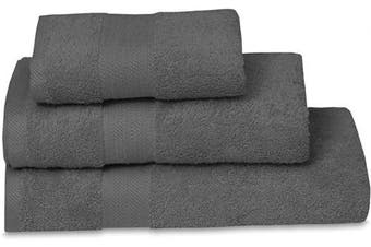 (Grey, Bath Sheet) - Nimsay Home 100% Egyptian Cotton Bathroom Sheets Super Soft Combed Plain 600 GSM Absorbent Bath Sheet Towel (Grey, 80 x 150 cm)