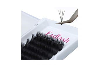 (0.05-D, 10 mm) - Volume Lash Extensions 8~20mm Easy Fan Lashes 2D~10D FADLASH Volume Eyelash Extensions C/D/DD Curl 0.05 0.07mm Self Fanning Lashes Supplies (0.05-D, 10mm)