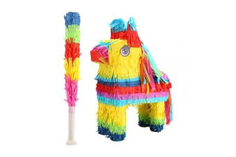 (Donkey) - 32nd Piñata Party Game with Stick - Horse / Donkey