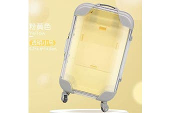 (Green) - COOFIT Doll Suitcase Mini Doll Travel Suitcase Lovely Doll Play Accessory for 46cm Doll
