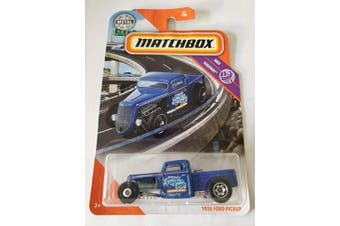 Matchbox 2020 MBX Highway 51/100 - 1935 Ford Pickup (Blue)