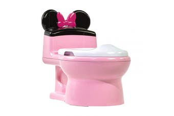 (Minnie Mouse) - The First Years Minnie Mouse Imaginaction Potty & Trainer Seat, Pink