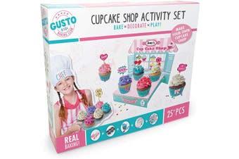 Gusto GD 18009 Bake, Decorate, Play Cupcake Shop Activity