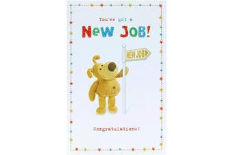 New Job Card - Congratulations New Job Card - Card New Job - Boofle New Job Card - New Job Card Cute - Congratulations Card - Congratulations Gifts - New Job Gifts - Boofle Gifts