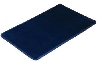 (Blue 50×80cm) - Lemong Non-slip Waterproof Anti-Bacterial Mat Comfort Kitchen Rugs Mats All-Purpose Floor Mats For Kitchen Bathroom or Workstations Blue
