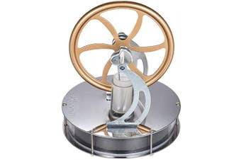 (Low Temperature,Gold) - Aibecy Low Temperature Stirling Engine Steam Heat Education Toy