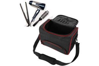 ANGGREK Large Capacity Pro Barber Scissor Salon Tool Carrying Bag with Shoulder Strap Hairdressing Tool Kit Bag Portable Make-Up Storage Cases