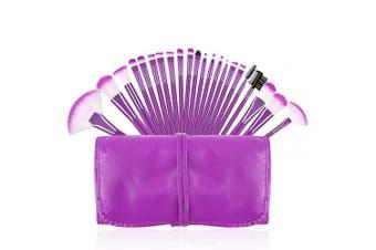 (Purple) - Makeup Brushes Set, Beautiful Purple Make Up Brushes Essential Beauty Tool Kits for Face Powder Cream Liquid Cosmetics Eyeshadow Blending