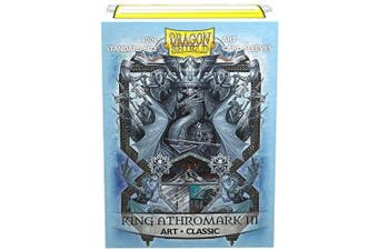 Arcane Tinmen ApS ART12027 Dragon Shield: Art Sleeves Classic-King Athromark III: Coat-of-Arms (100)
