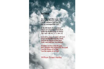 (12 x 8 Inch (30 x 20 cm)) - // TPCK // Invictus Motivational Poem by William Ernest Henley 3 (Clouds) Art Print Photo Poster Gift - Size: 12 x 8 Inches (30 x 20 cm)
