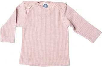(16-24 Months (Height 34-36) (86/92), Pink) - Cosilana - Baby T-Shirt Long Sleeve, 45% Organic Cotton, 35% Organic Merino Wool, 20% Silk