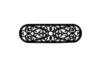 (25cm x 80cm ) - Imports Decor 818RBM Elliptical Curl Door Mat (30 x 10)