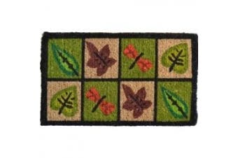 Imports Decor Printed Coir Doormat, Dragonfly, 18-Inch by 30-Inch