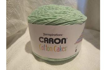 Caron Cotton Cakes Self Striping Yarn 530 yd/485 m 260ml/250 g (Rich Mint)