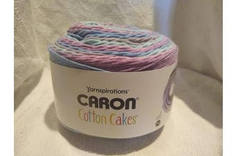Caron Cotton Cakes Self Striping Yarn 530 yd/485 m 260ml/250 g (Candied Lavender)