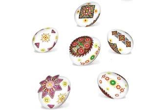 (Ornaments) - Ukrainian Stickers Easter Egg Decoration Pysanka Pysanky Set Easter Patterns (Ornaments)