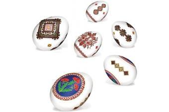 (Classic) - Ukrainian Stickers Easter Egg Decoration Pysanka Pysanky Set Easter Patterns (Classic)