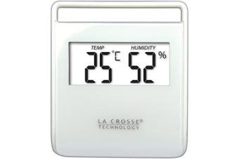 (white) - La Crosse Technology Thermo/Hygro Indoor Termometer Black