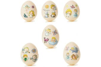 (Fantasia) - Ukrainian Stickers Easter Egg Decoration Pysanka Pysanky Set Easter Patterns (Fantasia)