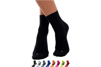 (Black, Medium) - ZaTech Plantar Fasciitis Brace Sock, Compression Socks for Men & Women. Heel, Arch, Achilles, Light Ankle Support Brace. . , Reduce Swelling, Foot Pain & Tendonitis Relief & Recovery