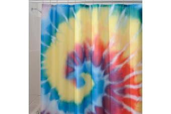 """InterDesign Tie Dye Shower Curtain - Multi (72x72"""")"""