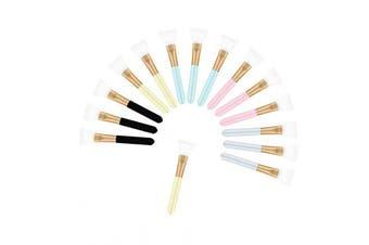 (15 Pcs) - BEAUTOPE Silicone Facial Mask Brush Face Mud Mask Applicator Brush Mask Beauty Tools (15 Pcs)
