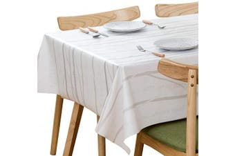 (137x275 cm, Branch) - Plenmor Heavy Duty Waterproof Table Cloth for Rectangle Table Wipe Clean Vinyl Tablecloth Oil-Proof Table Cover for Kitchen Dining Table (137x275 cm, Branch)