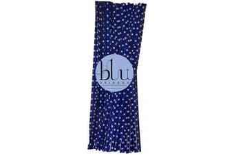 blu SKIDDOO 50 Twist ties – many colours – multi listing - for cone bags, cello, cellophane bags