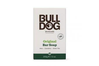 (Moisturizing) - Bulldog Mens Skincare and Grooming Original Moisturising Bar Soap, 210ml
