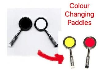 WONDER Colour Changing Paddles ~ Paddle Magic trick ~ Classic Magical Close Up Retro Effect