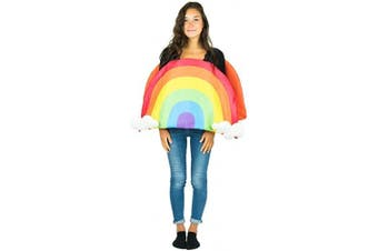 (One Size) - Bodysocks® Rainbow Fancy Dress Costume (Adult)