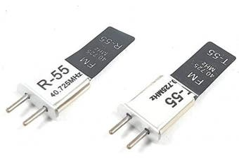 BSP RC 40 MHZ 40.725 FM Crystal TX & RX Receiver 40MHZ