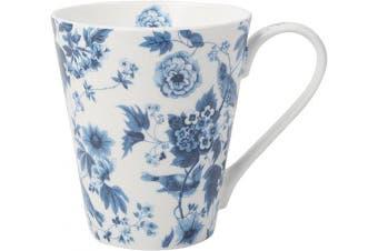 (Garden Birds (White)) - V & A Garden Birds Fine Bone China Mug by Creative Tops, 450 ml (16 fl oz)