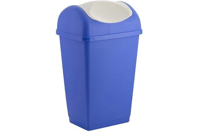 (9 l, Blue) - Tontarelli 235671 Swing Top Bin 9 L Blue