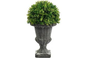 (Tyme) - Admired By Nature ABN5P004-Ntrl Faux Tyme Topiary with in Urn, Small, Green