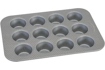 (12 Cup Cupcake Pan) - USA Pan 1200MF-2-ABC American Bakeware Classics 12 Cup Cupcake and Muffin Baking Pan, Aluminized Steel