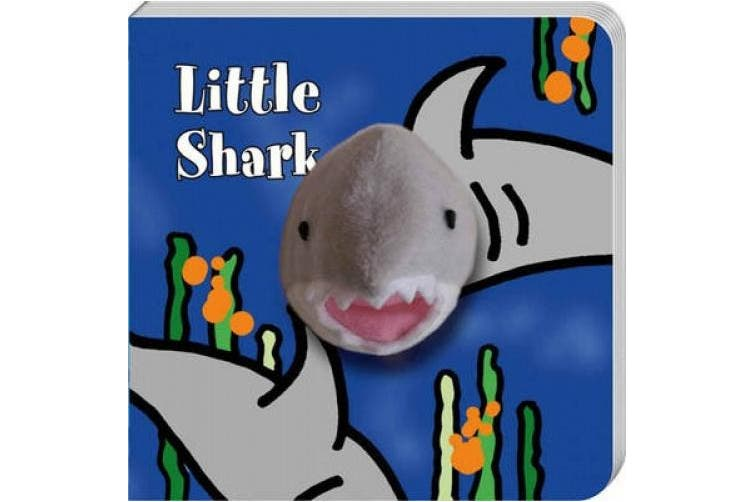 Little Shark: Finger Puppet Book [Board Book]