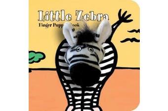 Little Zebra: Finger Puppet Book [Board Book]