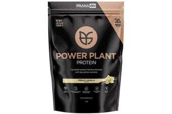 (Vanilla Crème, 1 KG) - Power Plant Protein by Prana ON - 100% Vegan Plant-Based Protein (1kg, Vanilla Creme)