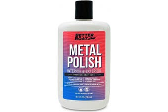 Metal Polish Metal Cleaner and Chrome Polish Marine Grade for Boats and Cars Aluminium and Stainless Steel