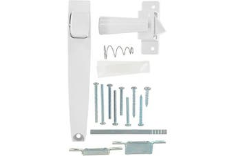 (White) - Wright Products International V333WH Screen and Storm Door Pushbutton Latch, White