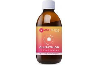 Liposomal glutathione | High Dosage | Antioxidant | 200 ml | Daily dose 400 mg Reduced glutathione | High bioavailability | Liquid | No additives | Vegan
