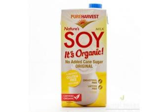 Pure Harvest Nature's Soy Milk 1L (Original)