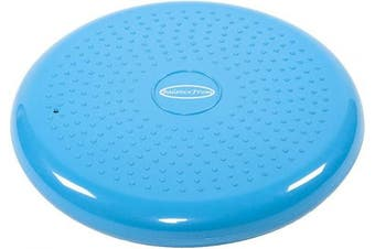 (Blue) - BalanceFrom Inflated Balance Disc Wobble Cushion Stability Core Trainer for Home or Office Desk Chair Kids Classroom Sensory Wiggle Seat, Pump Included