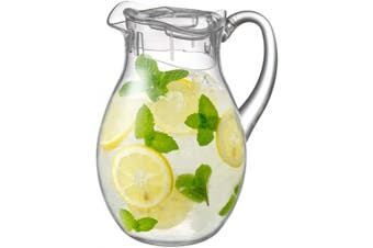(Bubbly (78 oz., 2.4 qt.)) - Amazing Abby Bubbly - Acrylic Pitcher (2310ml, 2.3l.), BPA-Free and Shatter-Proof, Great for Iced Tea, Sangria, Lemonade, and More