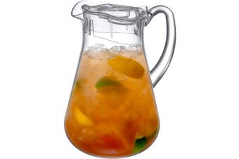 (Droply (72 oz., 2.2 qt.)) - Amazing Abby Droply - Acrylic Pitcher (2130ml, 2.1l.), BPA-Free and Shatter-Proof, Great for Iced Tea, Sangria, Lemonade, and More